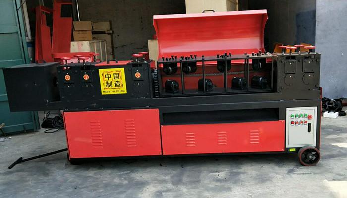 Rebar Straightening and Cutting Machine Factory