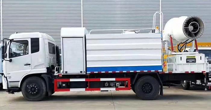 YG anti-dust truck device