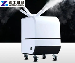 vertical disinfectant mist machine