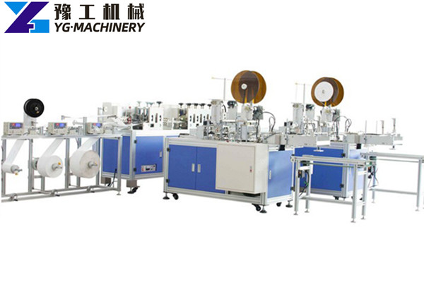 automatic folding mask making machine