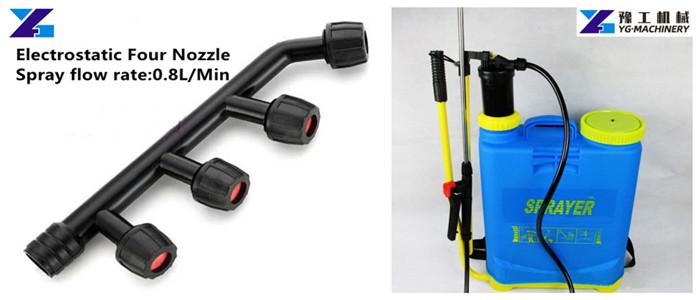 cheap electrostatic backpack sanitizer sprayer