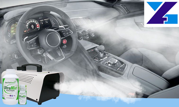 disinfection atomizer fog machine for car