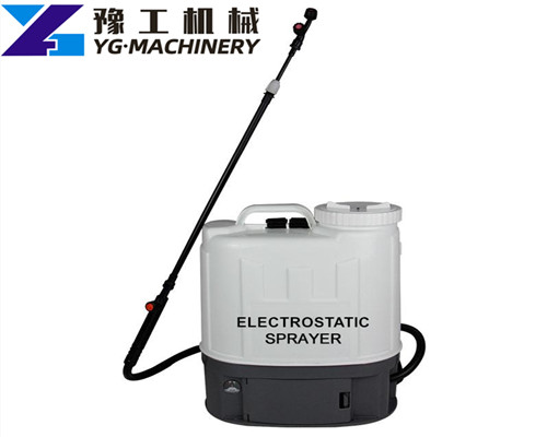 electrostatic sprayer distributors