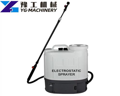 electrostatic sprayer distributors