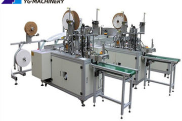 flat mask making machine