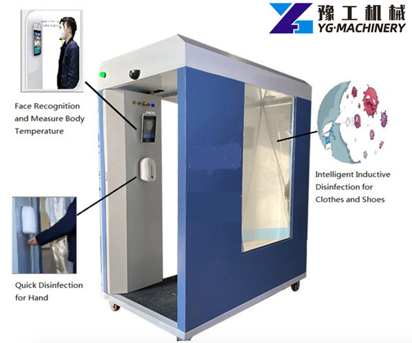 full-body disinfection booth