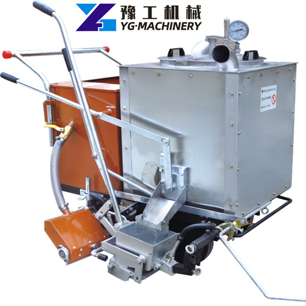 fully automatic thermoplastic road marking machine