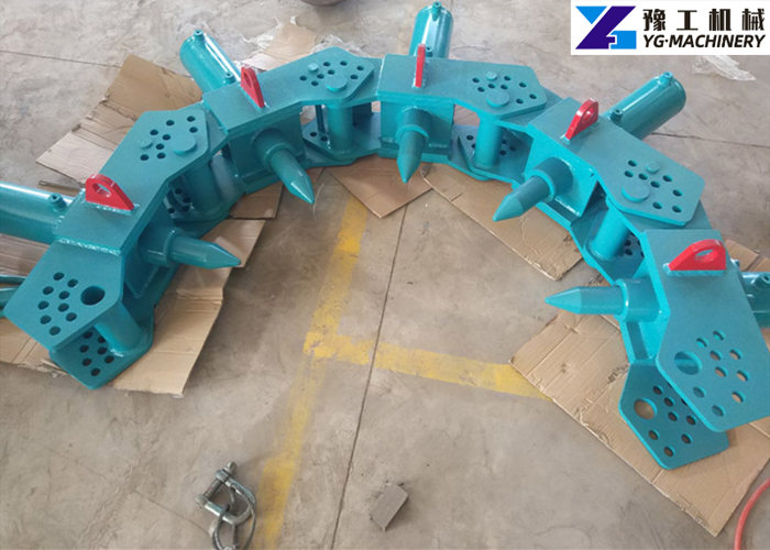 pile head breaking machine price