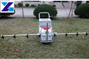 traction electrostatic spray machine