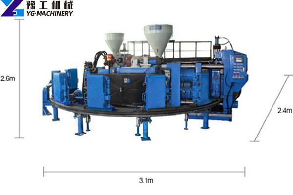 Rain Boot Injection Molding Machine Size
