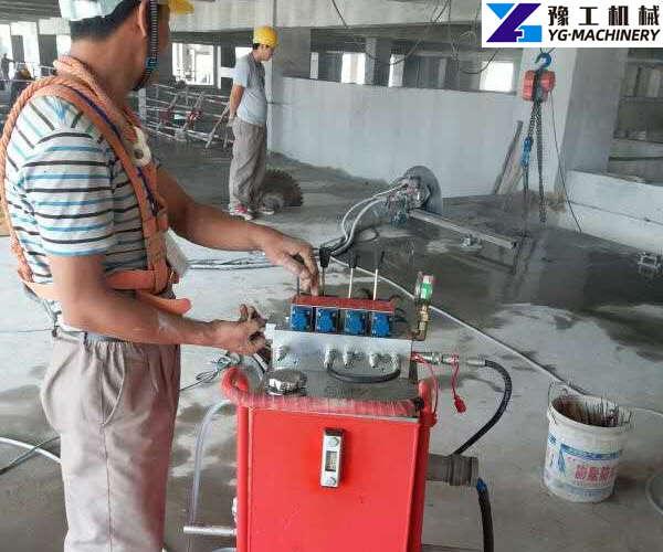 YG cheap hydraulic wall saw for sale