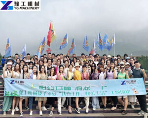 YG company team building activity-Yuntai Mountain