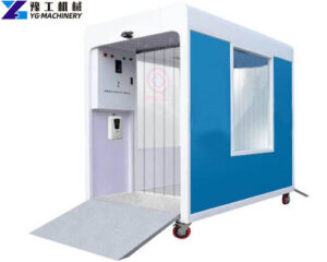 auto sanitizing gate