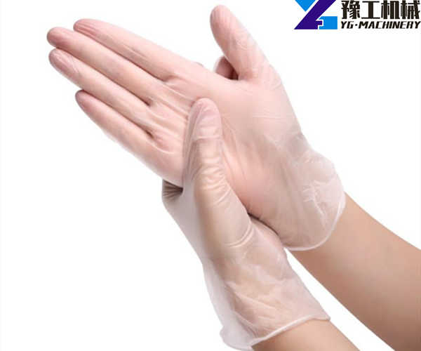 disposable PVC gloves samples