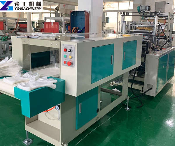 disposable plastic PE gloves making machine factory