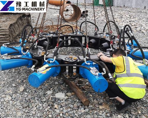hydraulic pile breaker machine manufacturer