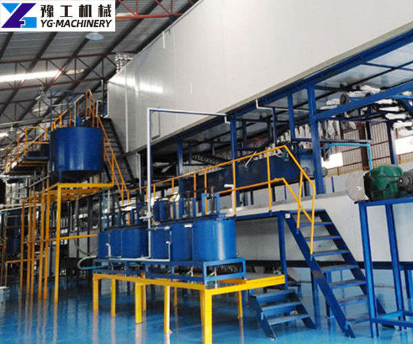 nitrile gloves production line layout