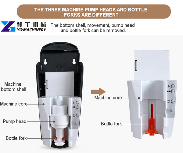 touchless foam soap dispenser factory price