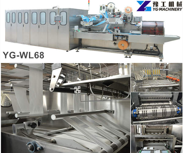 wet wipes manufacturing machinery