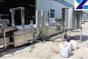 French Fries Manufacturing Process Frying Line