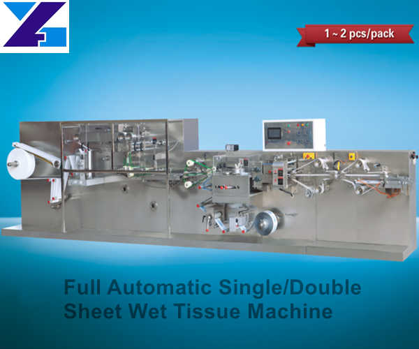Full Automatic Single or Double Sheet Wet Tissue Machine