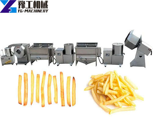 YG french fries making machine