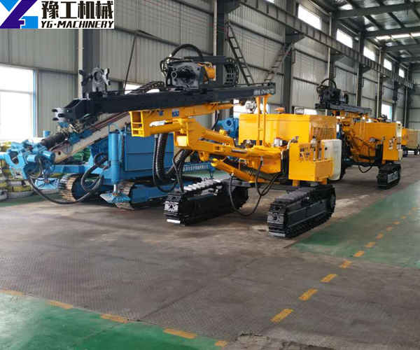 Large crawler DTH drill carriage manufacturers
