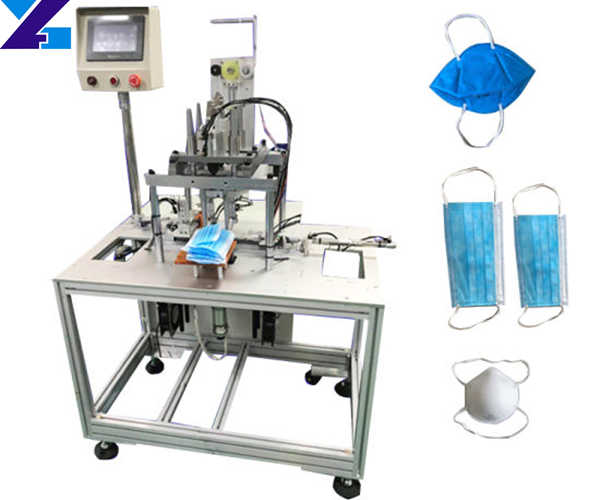 high speed flat mask making machine for sale