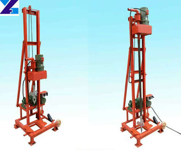 Portable electric folding type water well drilling rig factory