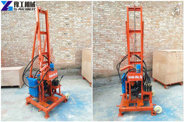ZX220 hydraulic water well drilling rig