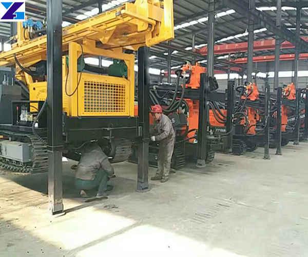 crawler type water well drilling machine factory price