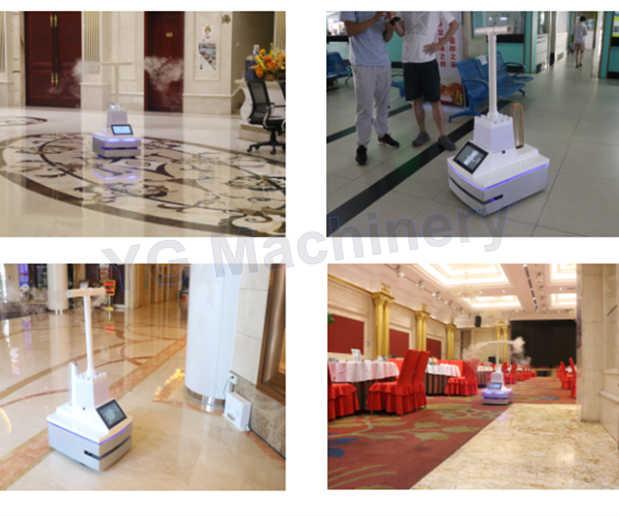 Intelligence UV robots application