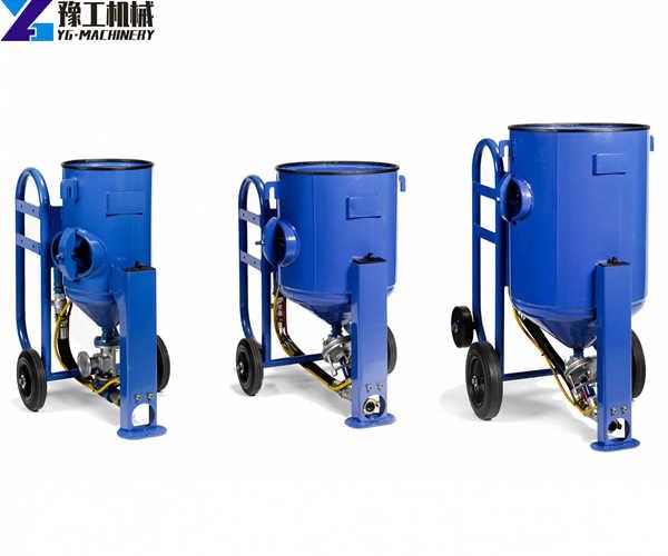 YG different size sandblasting equipment for sale