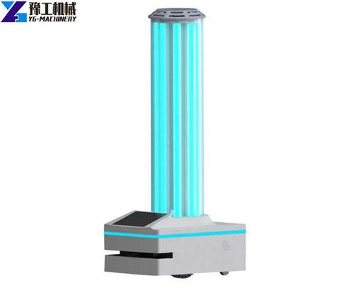 YG smart UV light disinfection robot for sale