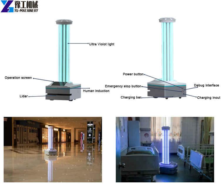 smart uv sterilizer robot for sale