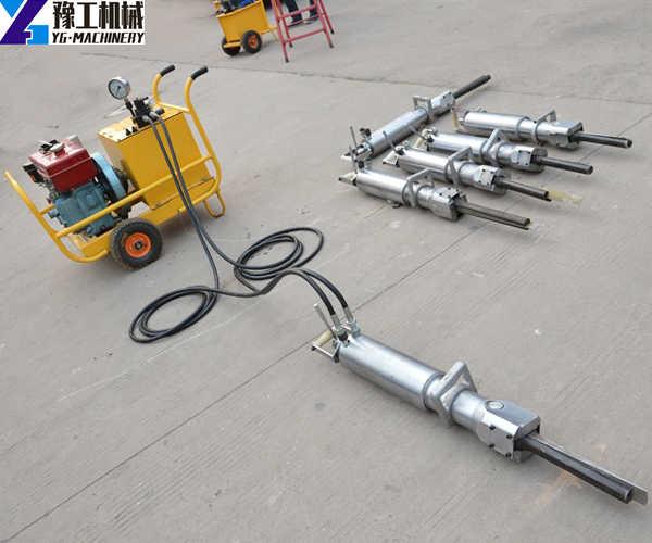 YG hydraulic rock splitter machine factory