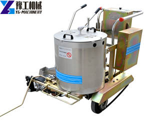 YG360S Electric Hand Push Thermoplastic Road Marking Machine