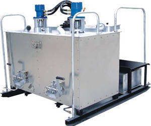 YGH-1000 hydraulic double cylinder hot melt kettle