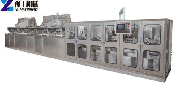 automatic wet wipes production machine