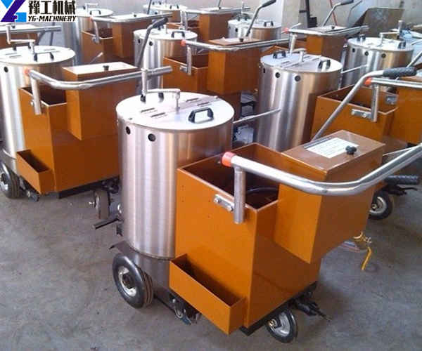 fully automatic thermoplastic road marking machine factory