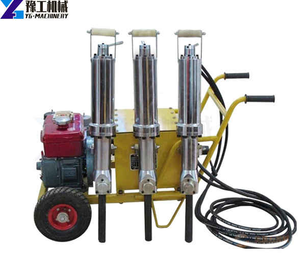 hydraulic rock splitter manufacturers in China