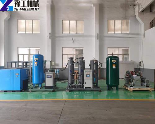 Whole medical oxygen generator plant display