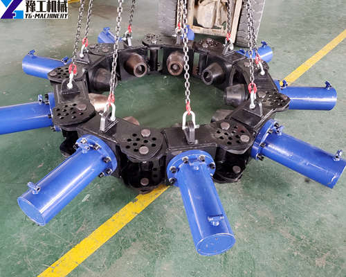 YG concrete pile crusher machine for sale
