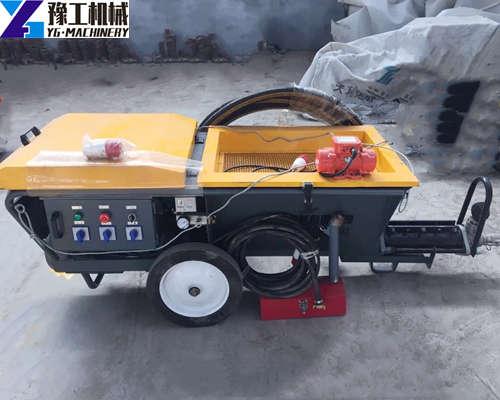 YG800 Plaster mortar spraying machine