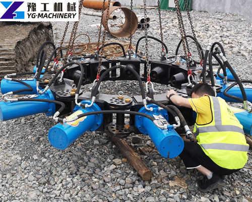 hydraulic pile crusher machine manufacturer