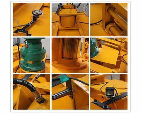 Components of I Beam Bending Machine