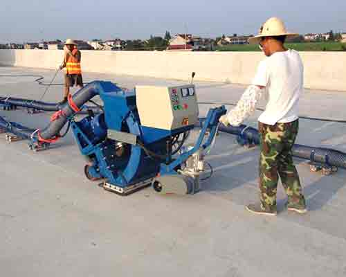 Concrete Pavement Shot Blasting Machine