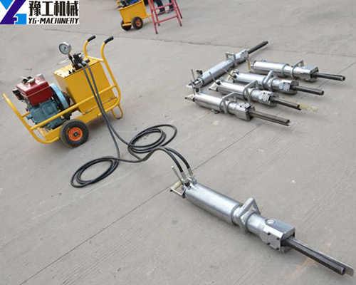 YG Hydraulic Rock Splitter Machine Factory Price