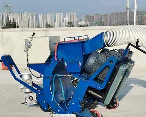 YGPW-850 Floor Shot Blasting Machine For Sale